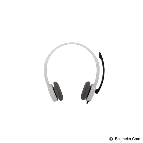 LOGITECH Headset H150 [981-000349 / 981-000453] - Cloud White - Headset Pc / Voip / Live Chat